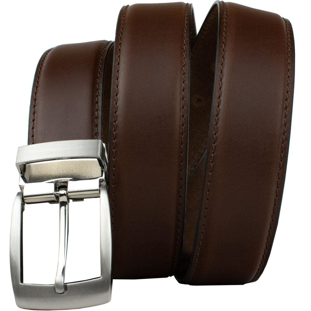 Brown Dress Belt By Nickel Smart® | Nonickel.com, nickel free, hypoallergenic