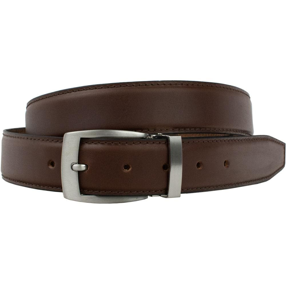 Brown Dress Belt By Nickel Smart® | Nonickel.com, zinc buckle