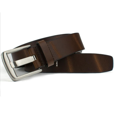 Nickel Free Belt - Brown Wide Pin Belt By Nickel Smart® | Nonickel.com
