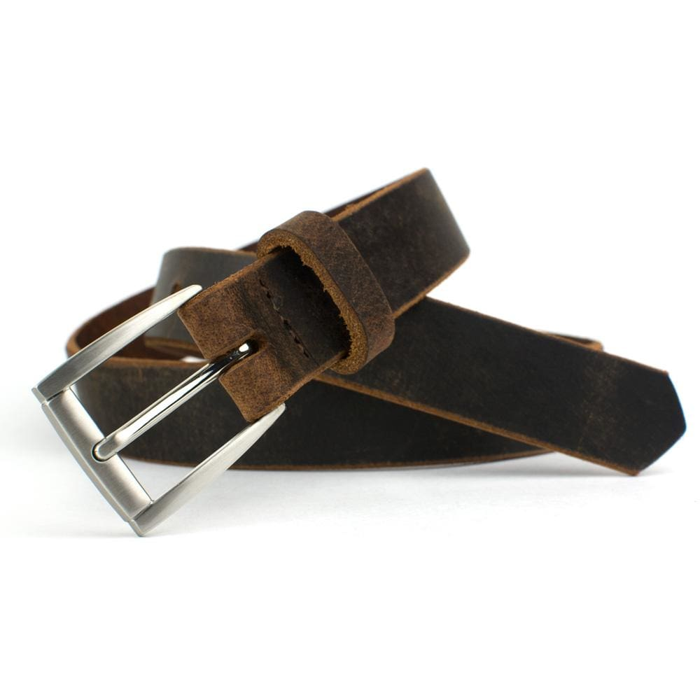 Nickel Free Belt - Childs Roan Mountain Distressed Brown Belt By Nickel Smart® | Nonickel.com