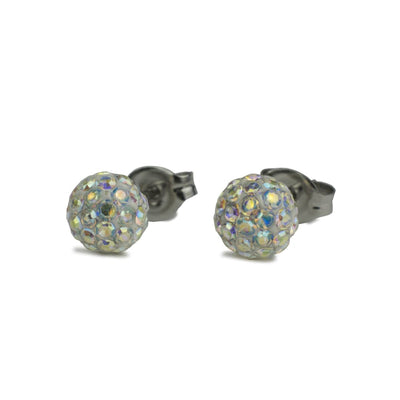 Nickel Free Earrings - Crystal Ball Post Earrings By Nickel Smart® | Nonickel.com