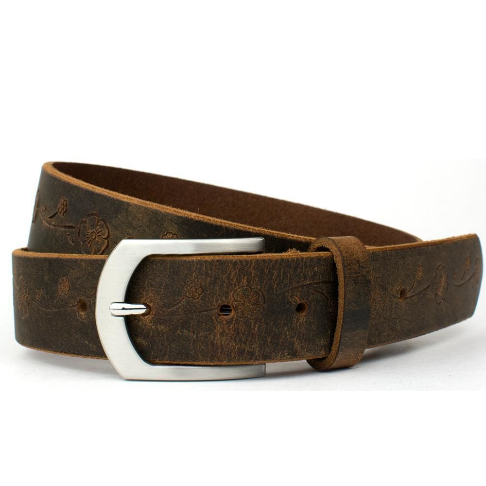 Distressed Rose Belt Ii By Nickel Smart® | Nonickel.com, zinc buckle