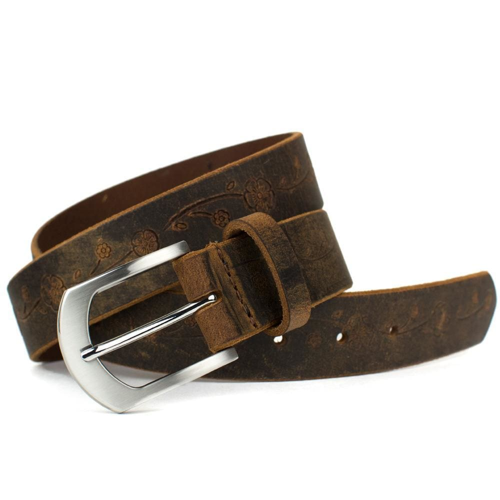 Nickel Free Belt - Distressed Rose Belt Ii By Nickel Smart® | Nonickel.com