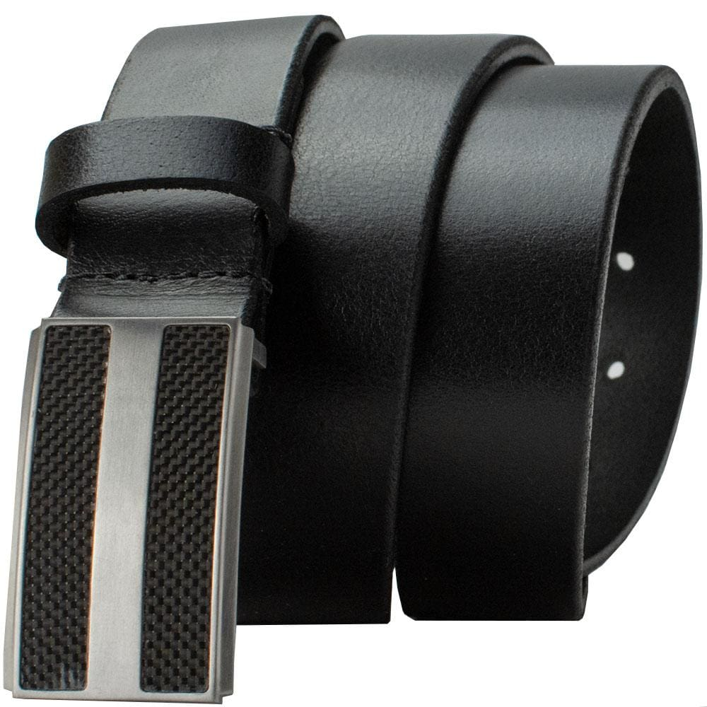 Nickel Free Belt - Genuine Leather Belt With Titanium/carbon Fiber Buckle By Nickel Smart® | Nonickel.com