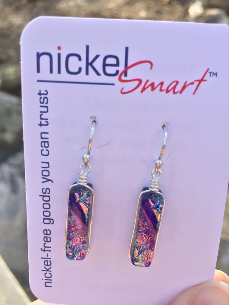 Looking Glass Falls Earrings - Lilac | Nonickel.com, won't cause a nickel rash