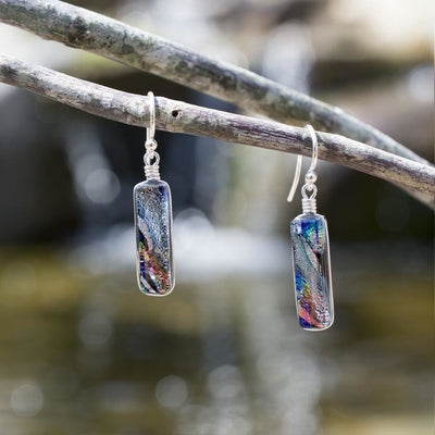 Nickel Free Earrings - Looking Glass Falls Earrings - Silver | Nonickel.com