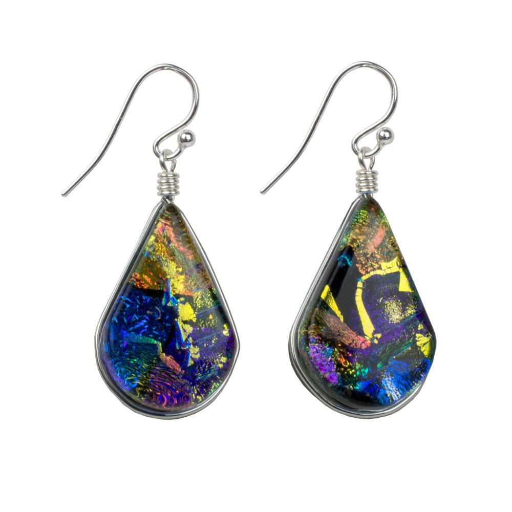 Nickel Free Earrings - Rainbow Falls Earrings - Kaleidoscope | Nonickel.com