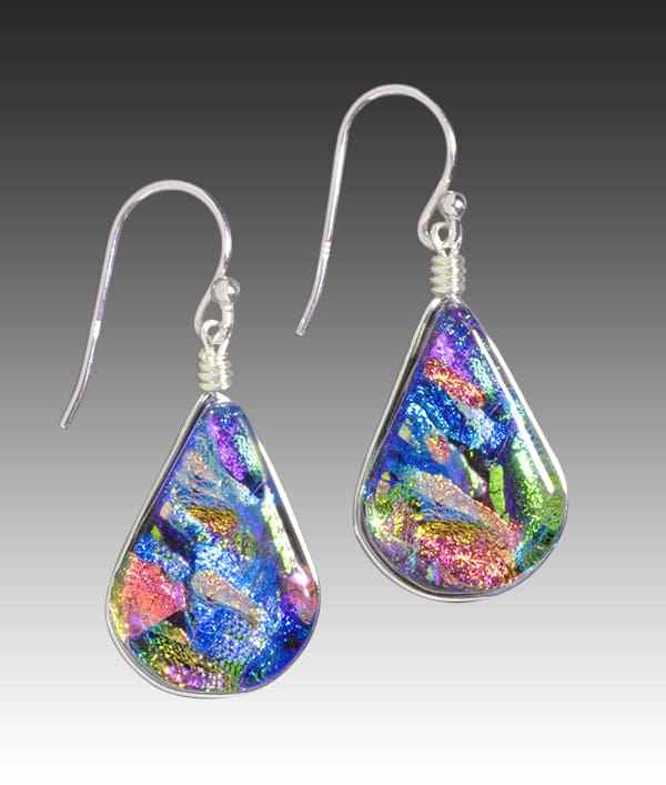 Rainbow Falls Earrings - Kaleidoscope | Nonickel.com, hypoallergenic earrings
