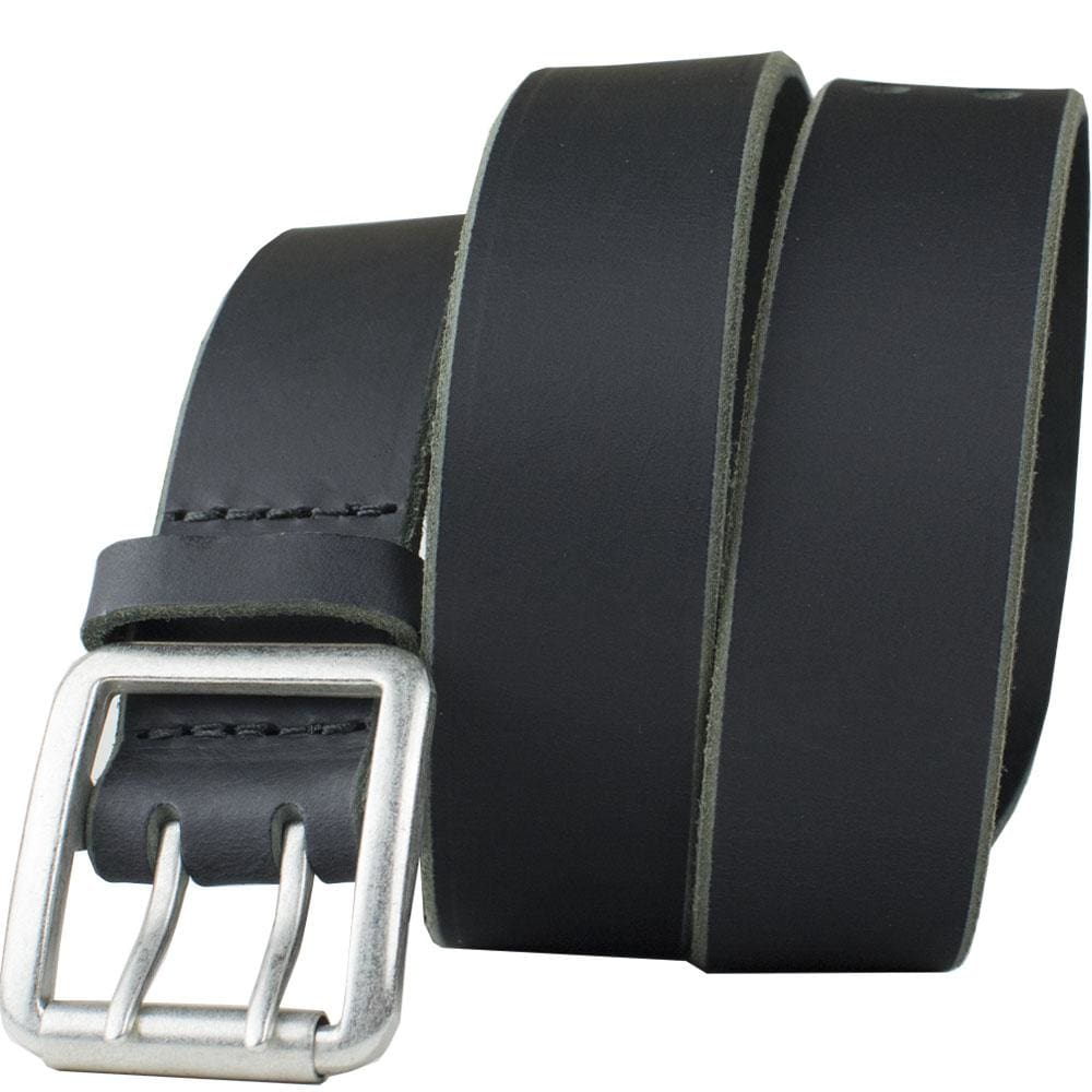 Ridgeline Trail Belt (Black) By Nickel Smart® | Nonickel.com, nickel free, zinc buckle