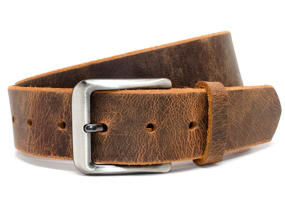 Roan Mountain Distressed Leather Belt By Nickel Smart® | Nonickel.com, genuine leather
