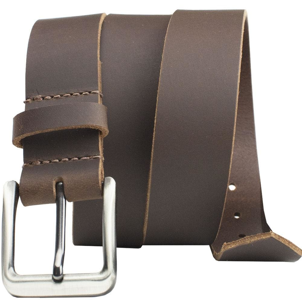 Roan Mountain Leather Belt By Nickel Smart® | Nonickel.com, nickel free, zinc buckle