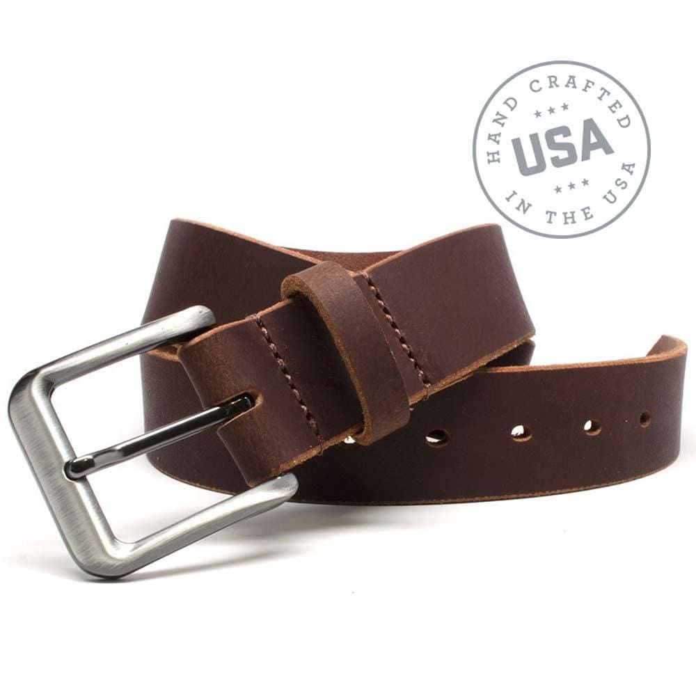 Roan Mountain Leather Belt By Nickel Smart® | Nonickel.com, genuine leather made in the USA