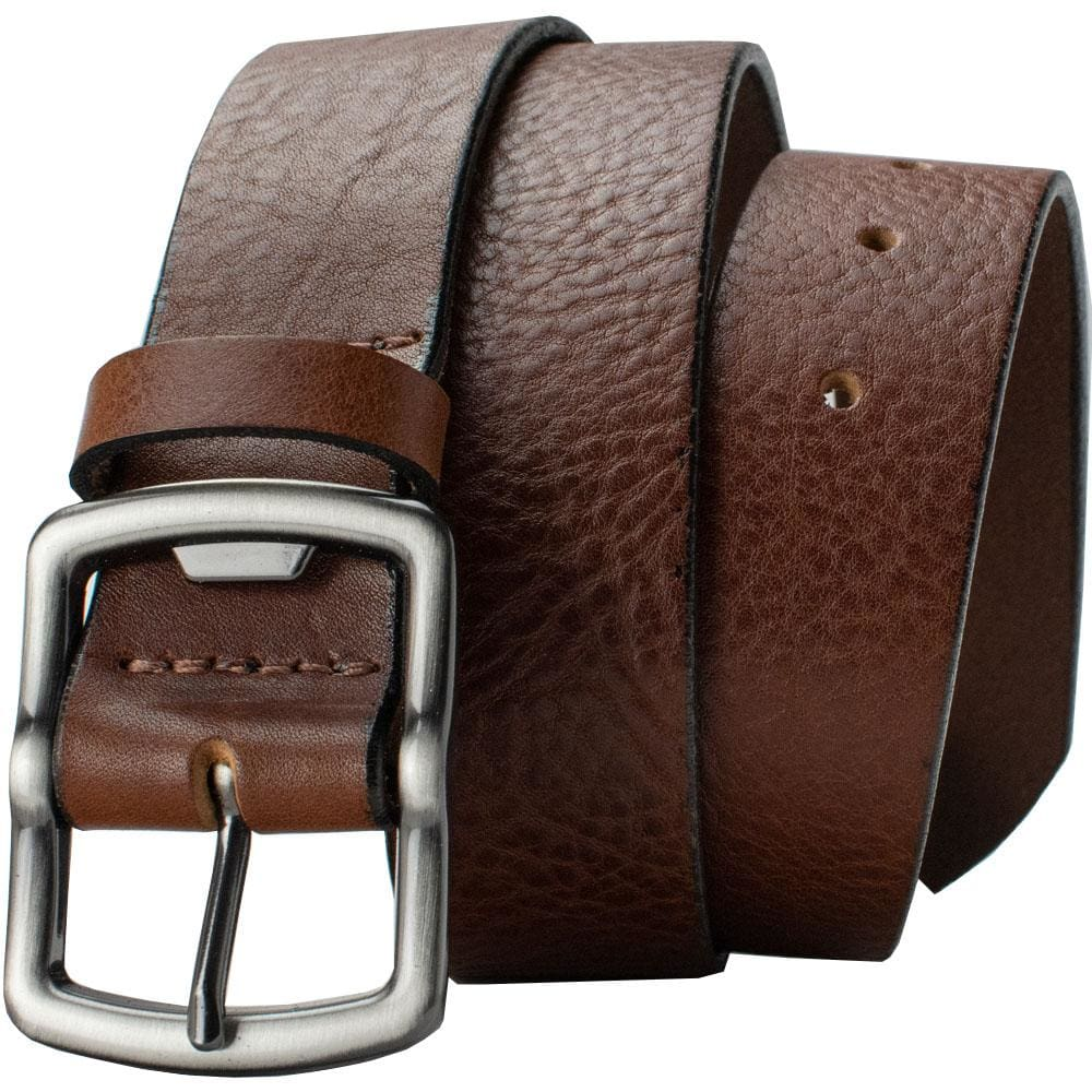 Nickel Free Belt - Rocky River Brown Belt By Nickel Smart® | Nonickel.com