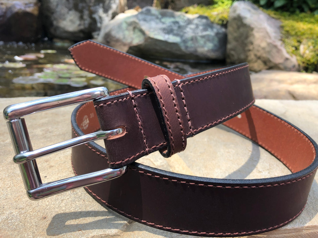 The Site Manager Belt (Brown) by Nickel Smart- nonickel.com, hypoallergenic