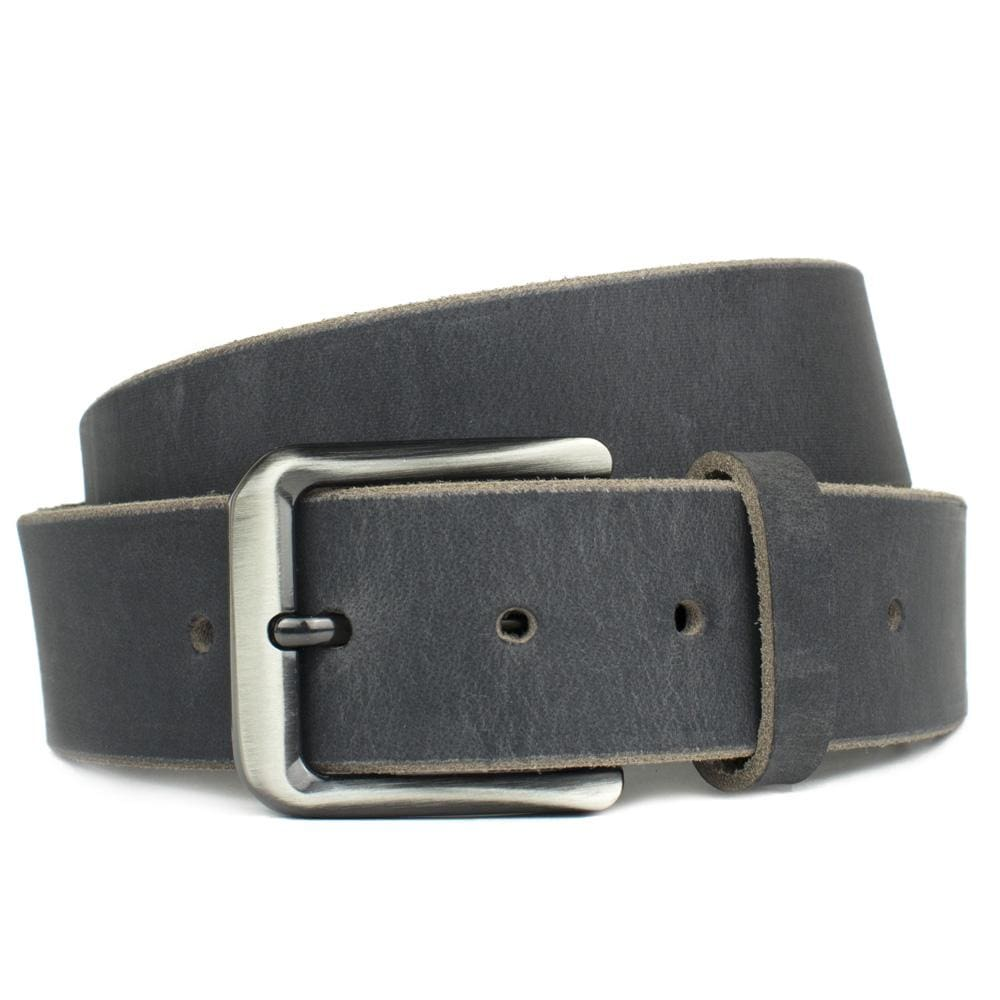 Smoky Mountain Distressed Leather Belt By Nickel Smart® | Nonickel.com, nickel free, zinc buckle