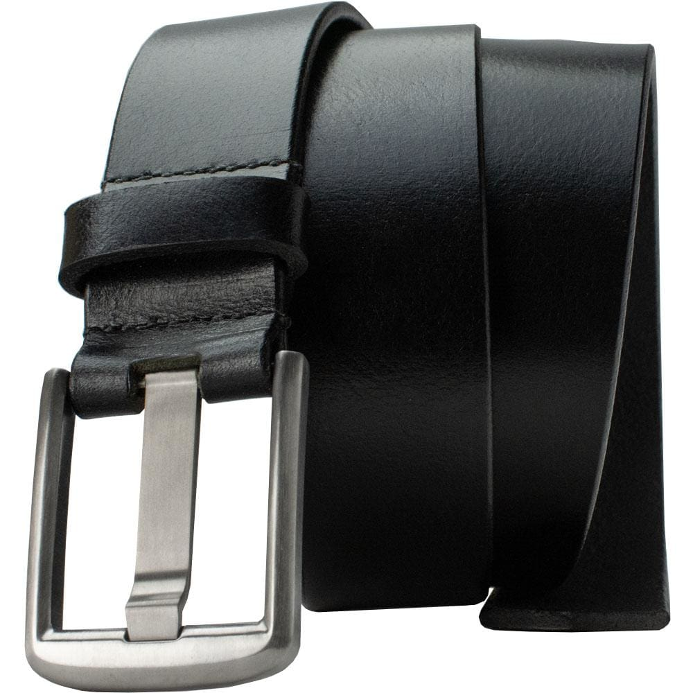 Titanium Wide Pin Black Belt By Nickel Smart® | Nonickel.com, hypoallergenic, nickel free