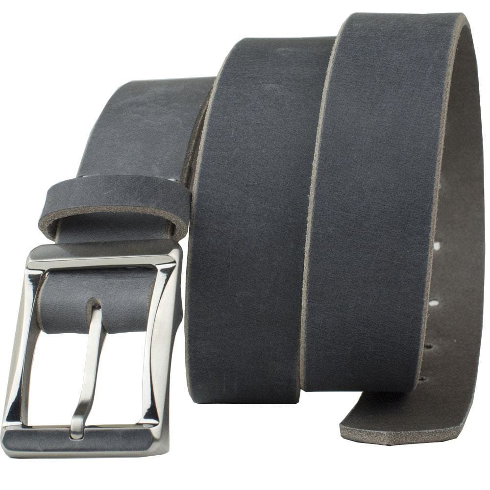 Titanium Work Belt (Distressed Gray) By Nickel Smart® | Nonickel.com, hypoallergenic