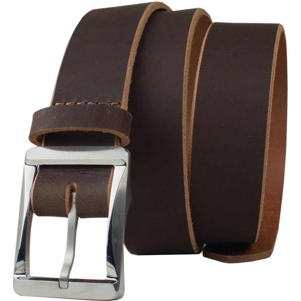 Titanium Work Belt Ii (Brown) By Nickel Smart® | Nonickel.com, hypoallergenic, nickel free