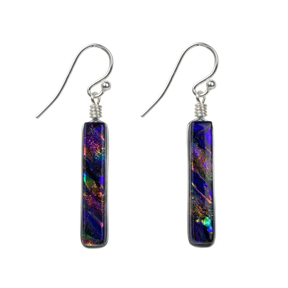 Nickel Free Earrings - Twin Falls Earrings - Rainbow Purple | Nonickel.com