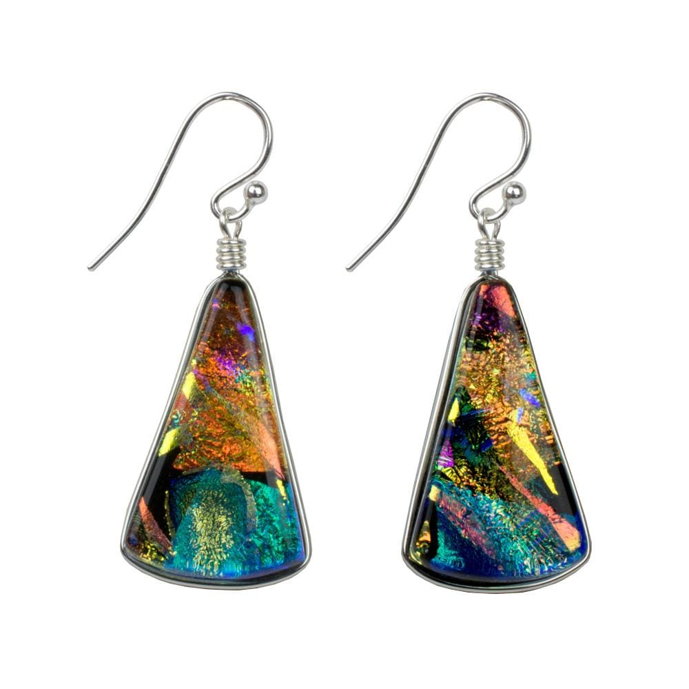 Nickel Free Earrings - Window Waterfalls Earrings - Kaleidoscope | Nonickel.com