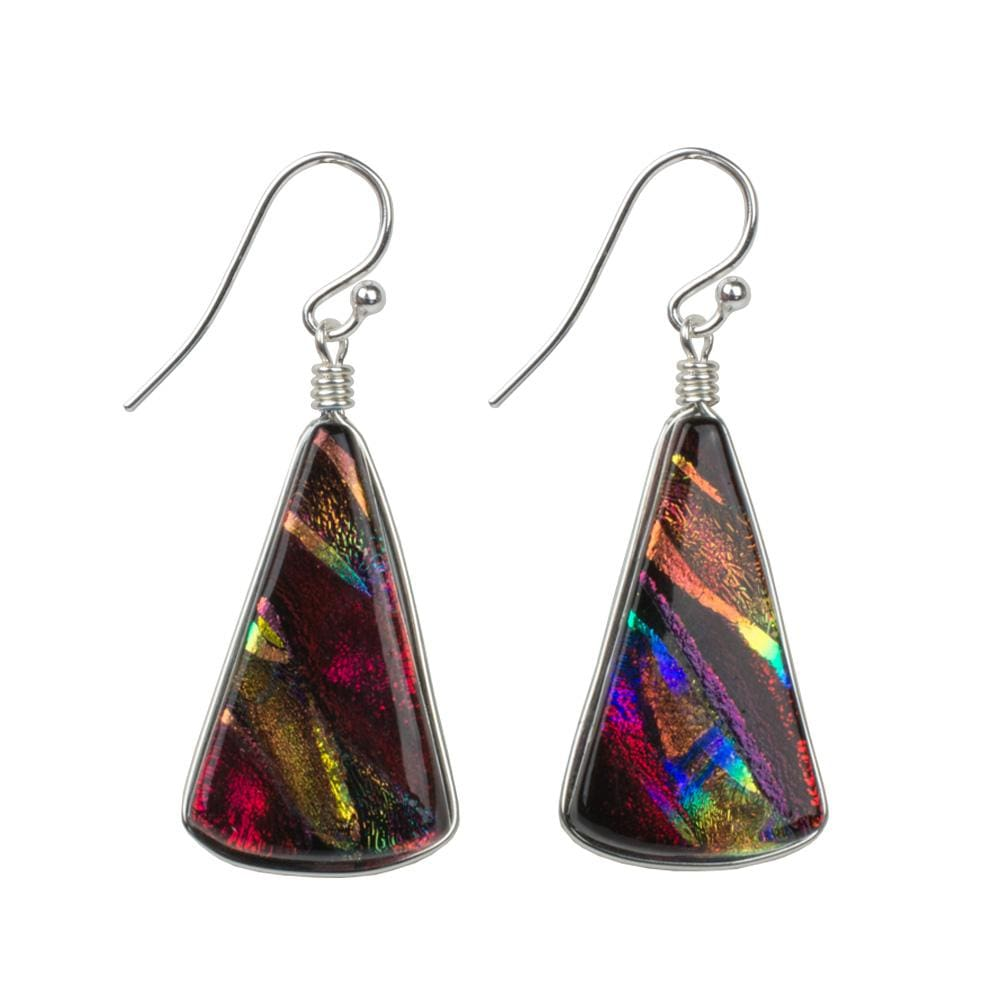 Nickel Free Earrings - Window Waterfalls Earrings - Rainbow Red | Nonickel.com