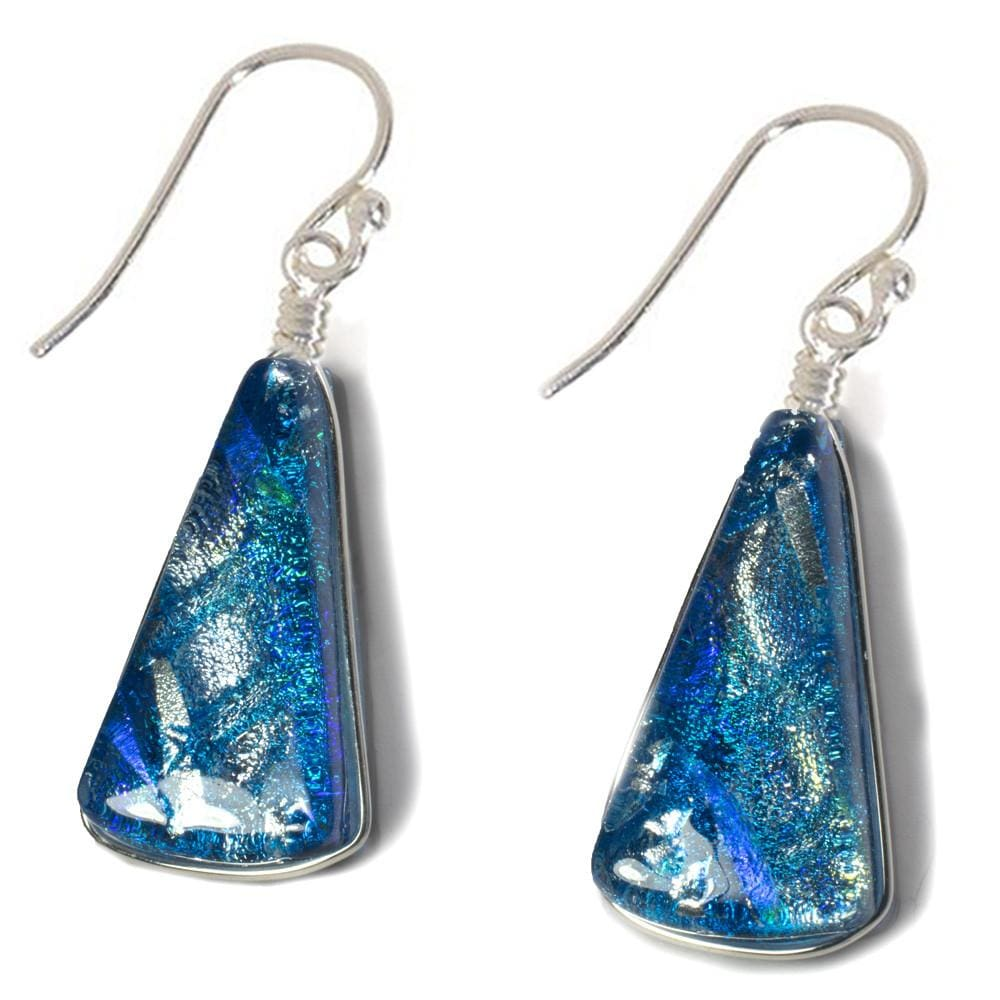 Window Waterfalls Earrings - Sea Blue | Nonickel.com, nickel free earrings