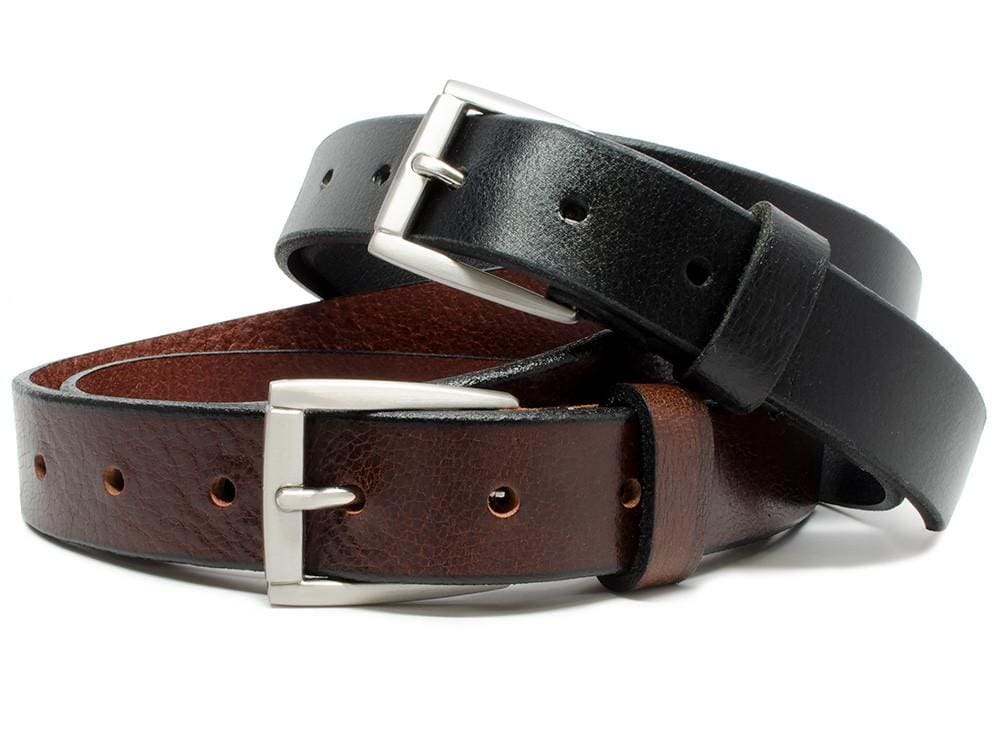 Nickel Free Belt - Womens Leather Belt Set--Ashe And Avery - By Nickel Smart | Nonickel.com