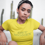 Get Money T-Shirt in Lemon
