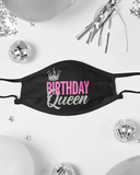 Birthday Queen T-Shirt and Mask Bundle