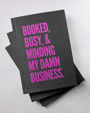 Booked and Busy Black Journal