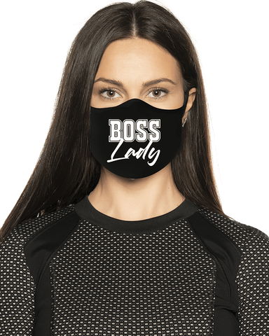 Boss Lady Face Mask