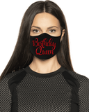 Birthday Queen Prism Face Mask