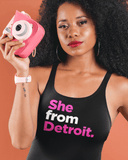 She From Detroit Tank Top