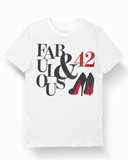 Fabulous and 42 Birthday T-Shirt