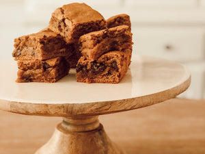 A Holmes Family Fall Favorite - Gooey Chocolate Chip Pumpkin Bars
