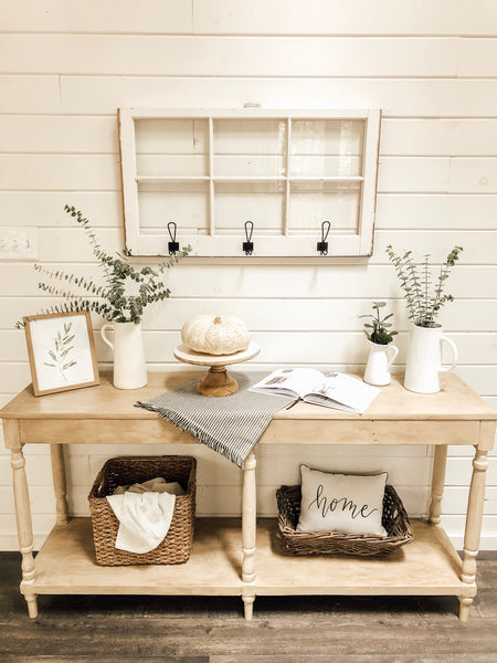 House + Holm - Living Room DIY Renovation - Console Table