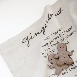 Gingerbread Tea Towel