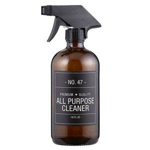 Amber Glass All Purpose Cleaner Bottle