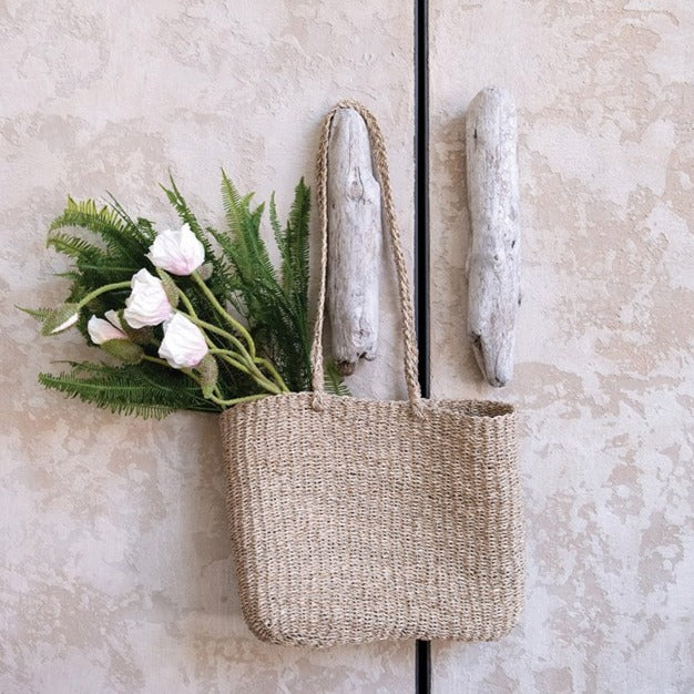 Hand-Woven Seagrass Tote Bag