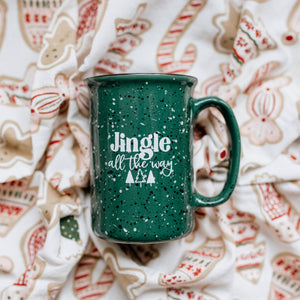 Jingle All The Way Tall Campfire Mug