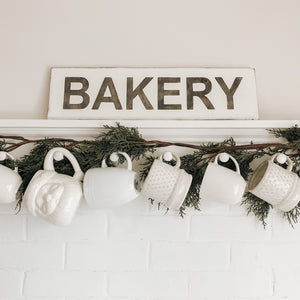 Reclaimed Wood Sign - Bakery