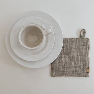 Olive Chambray Potholder