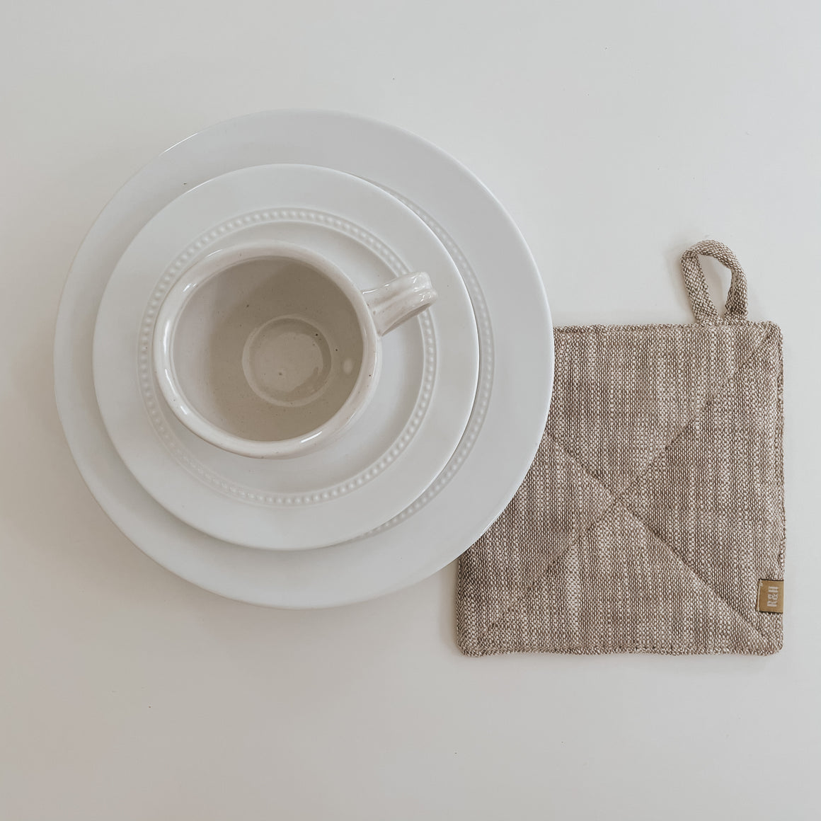 Stone Chambray Potholder