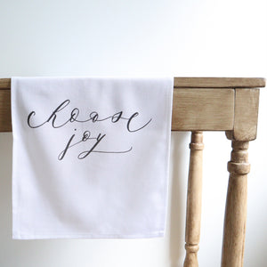 Choose Joy Table Runner