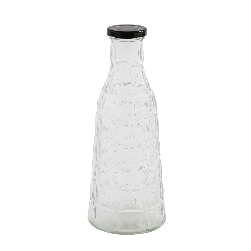 Glass Bottle with Metal Cap