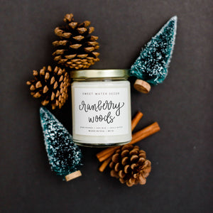 Cranberry Woods Soy Candle