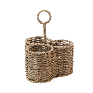 Woven Seagrass Caddy