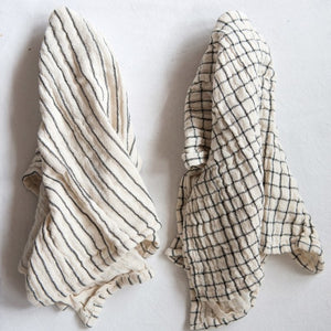 Natural Cotton Tea Towel Set