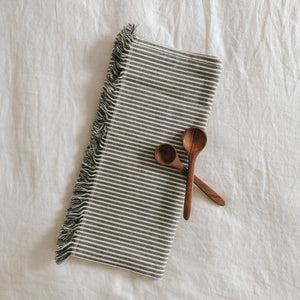 Olive Stripe Table Runner
