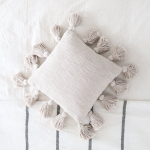 Square Mini Tassel Pillow